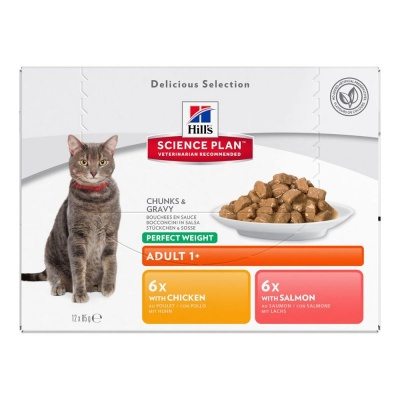 Hill's Feline Adult Perfect Weight 12x85g