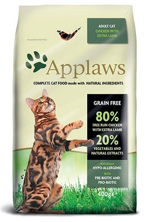 APPLAWS Cat Chicken & Lamb 400g
