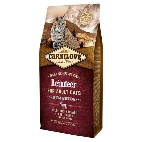 Carnilove Cat Reindeer Energy & Outdoor 400g