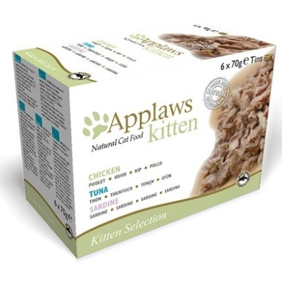 APPLAWS Multipack Kitten 6x70g