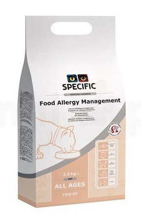 Specific FDD HY Food Allergy Management 2,5kg