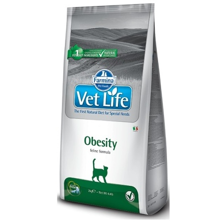 Vet Life Natural CAT Obesity 400g
