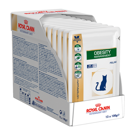 Royal Canin Feline Obesity 12x100g