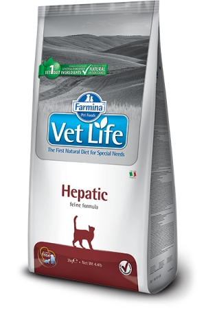 Vet Life Natural CAT Hepatic 400g