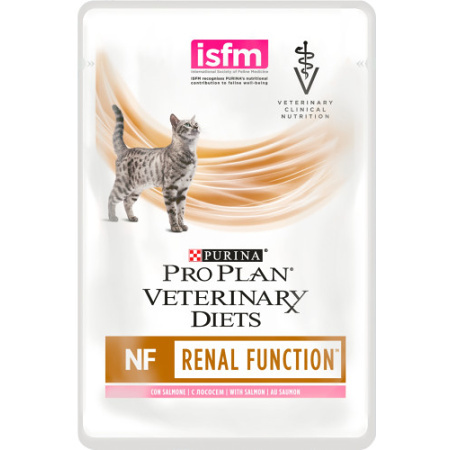 Purina Feline NF Renal Function 10x85g losos