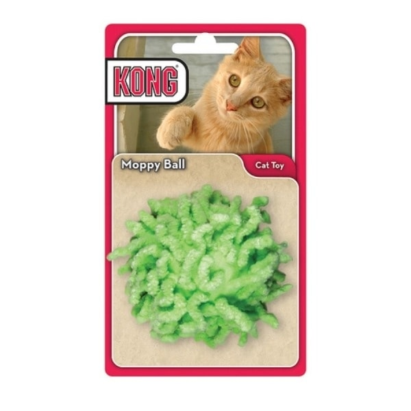 Kong Moppy Ball  s catnipem