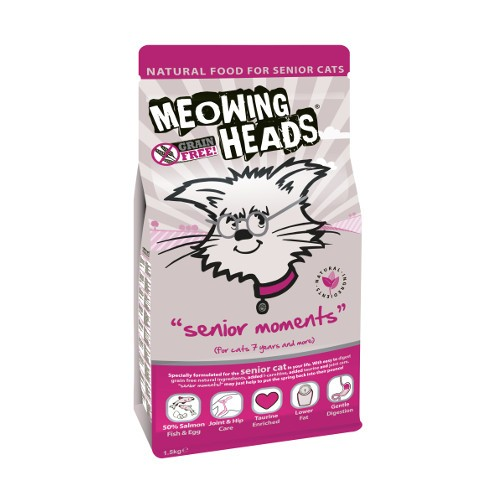 Meowing Heads - Senior Moments 1,5kg
