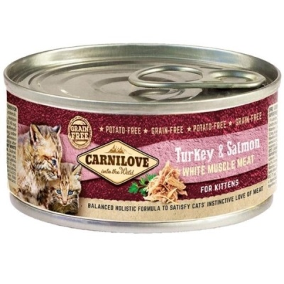 Carnilove Turkey&Salmon for Kittens 100g
