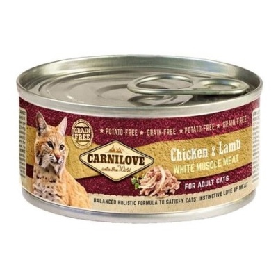 Carnilove Chicken&Lamb for Cats 100g