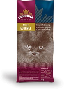 CHICOPEE Adult Cat Gourmet 15kg
